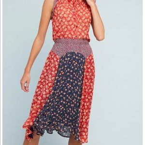 Anthropologie prairie skirt